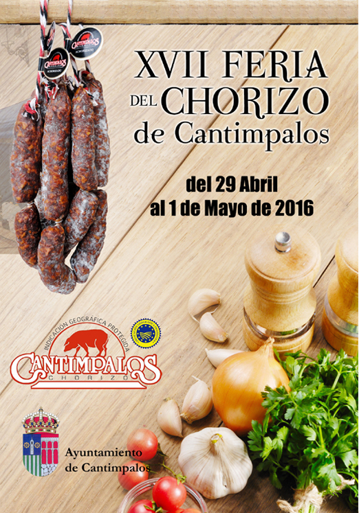 Cartel de la Feria del Chorizo de Cantimpalos