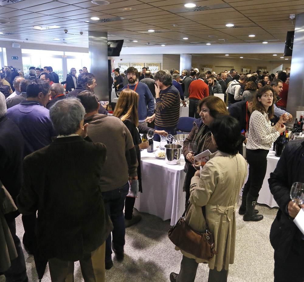Inauguración del 17º Salón de Vinos de Madrid. KIKE PARA.