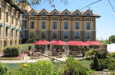 Hotel Wine Oil Spa Villa de Laguardia en el corazón de Rioja Alavesa.