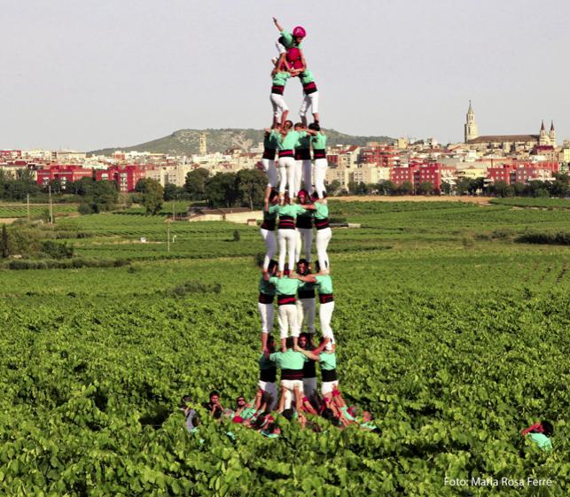 Capital del Vino Castellers Vilafranca del Penedès