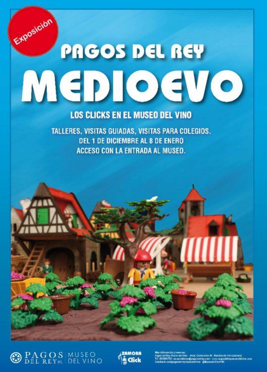Clicks de Playmobil en Pagos del Rey