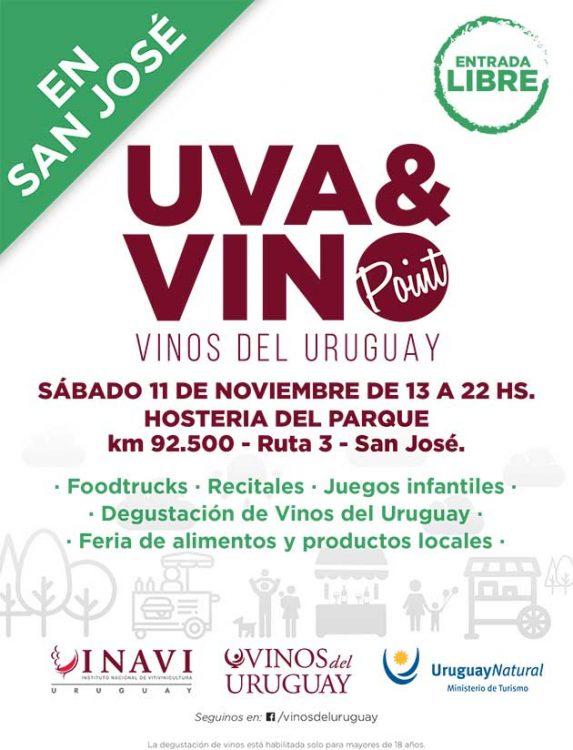Uruguay enoturismo Uva y Vino Point