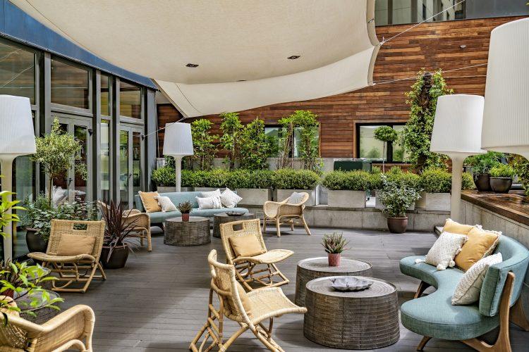NoMad Food&Bar Terraza exterior