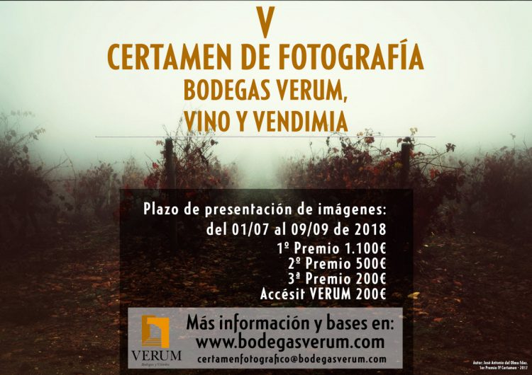 Certamen fotográfico Bodegas Verum