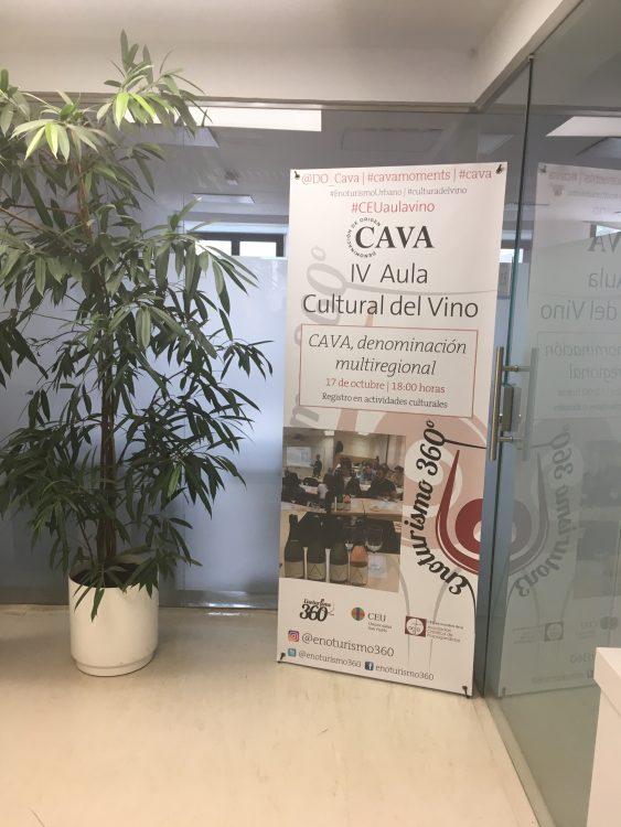 Aula Cultural del Vino Universidad CEU San Pablo