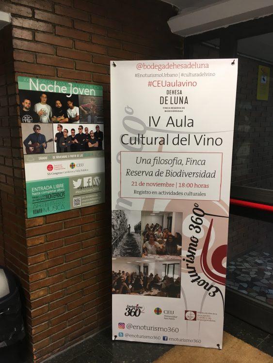 Dehesa de Luna Aula Cultural del Vino CEU