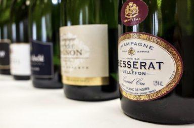 Champagne en Bodegas Valtravieso