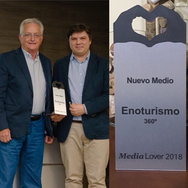 Enoturismo 360 Premios Media Lover
