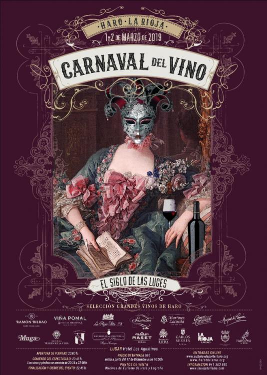 Carnaval del Vino de Haro @ Claustro del Hotel Los Agustinos
