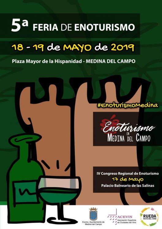 V Feria de Enoturismo de Medina del Campo @ Plaza Mayor de la Hispanidad