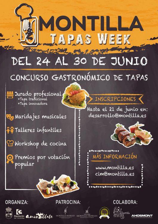 Concurso Gastronómico de Tapas Montilla @ Montilla, Córdoba