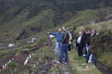Equipo del análisis agroturístico en Canarias