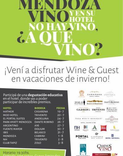 «Wine & Guest» nos enseña sobre vino en lugares únicos
