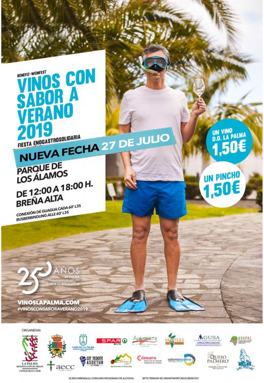 Fiesta del Vino con Sabor a Verano 2019 @ Parque de los Álamos, Breña Alta, La Palma