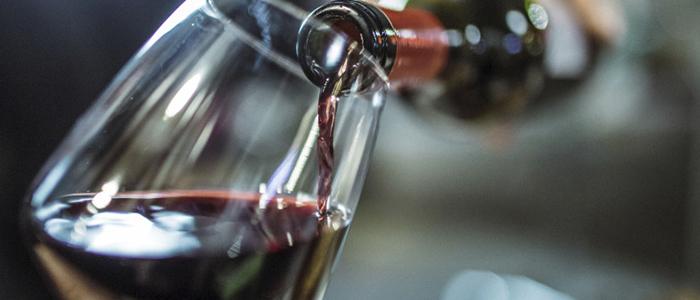 consumo moderado de vino