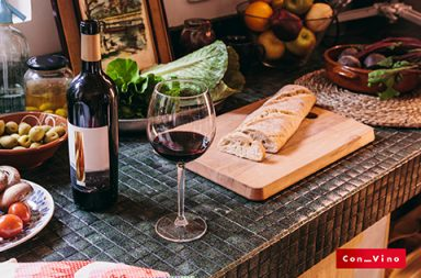 el vino es un alimento