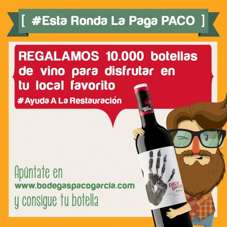 #EstaRondaLaPagaPaco