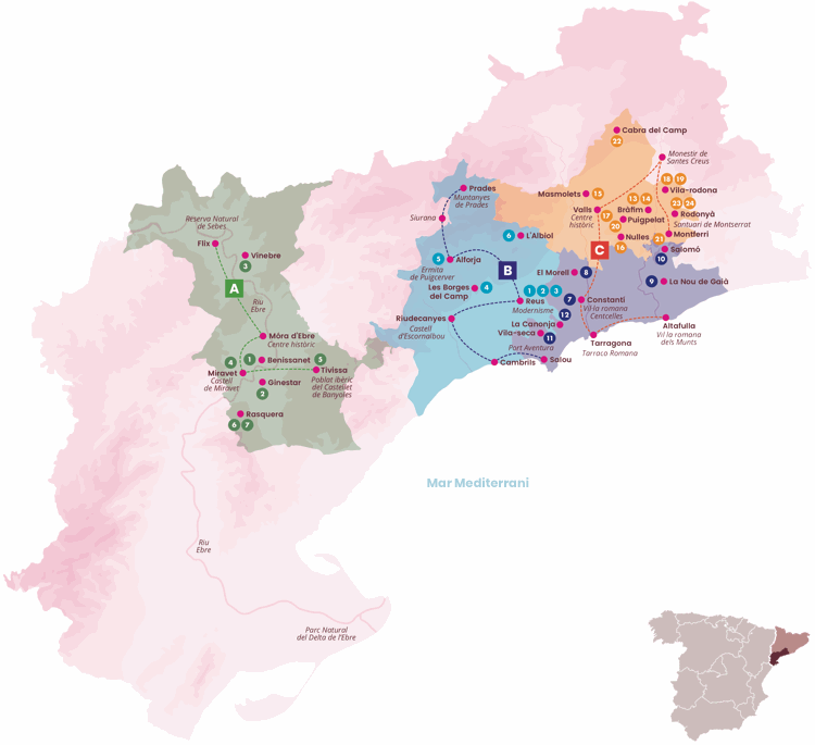enoturismo Tarragona