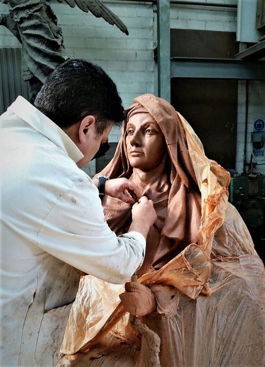 Escultura en el enoturismo